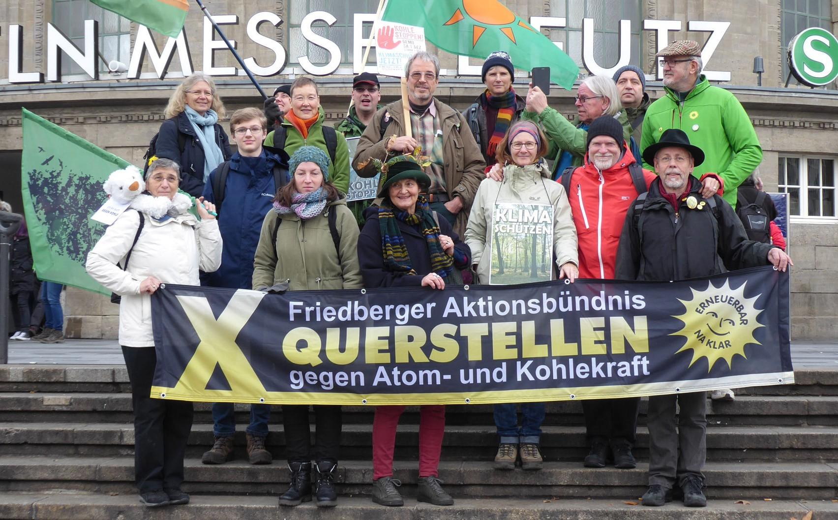 Auch Querstellen demonstriert am 1. 12. 2018 in Köln