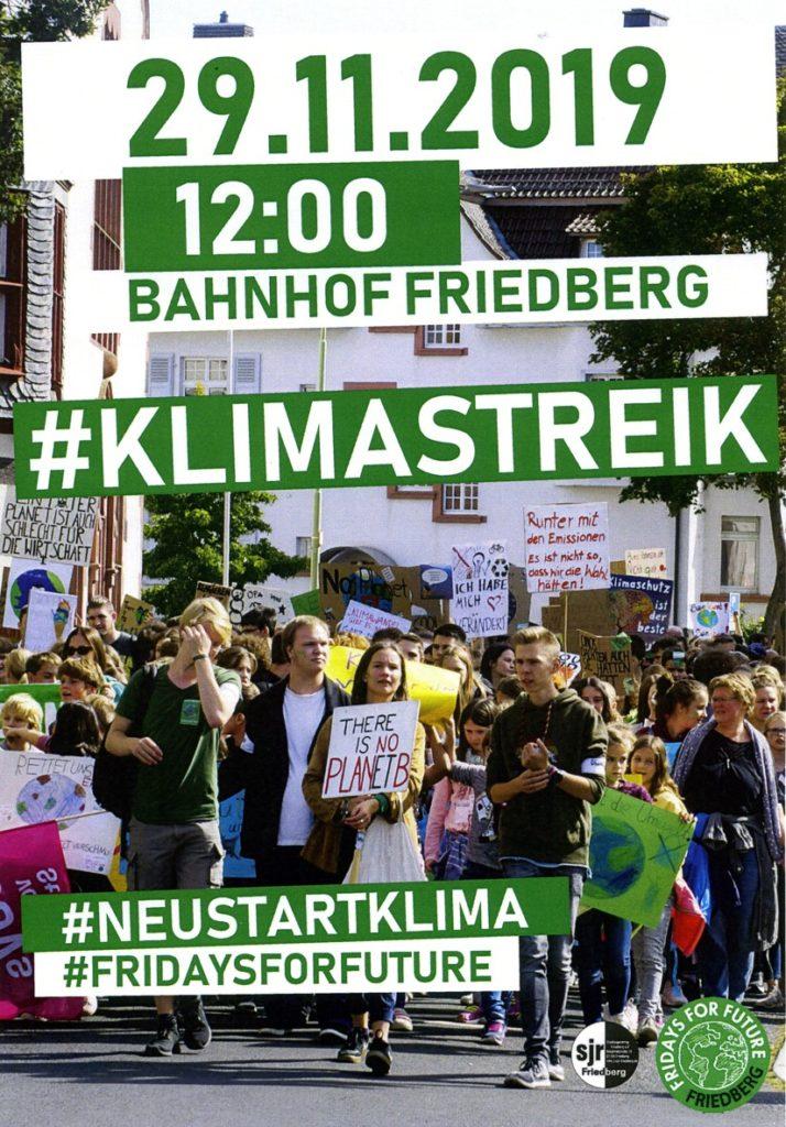 Klimastreik 29. November 2019 Friedberg