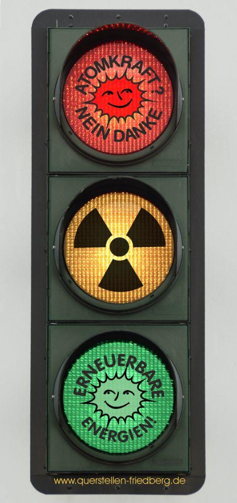 Anti-Atom-Ampel von Querstellen-Friedberg