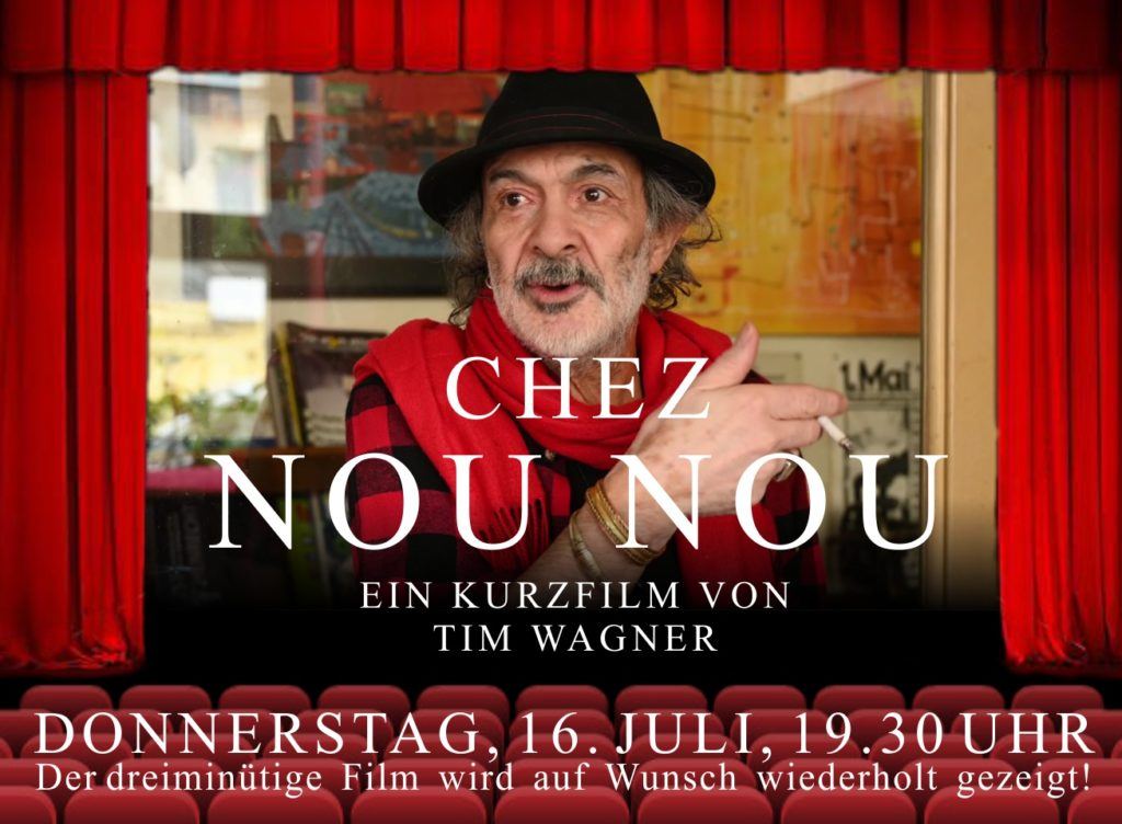 "Einladung zur Kurzfilm-Präsentation ""CHEZ NOU NOU"""
