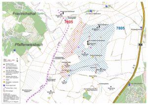Windvorranggebiet mit Standortvorschlägen für Windenergieanlagen