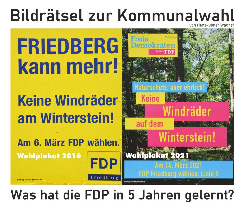 Vergleich der FDP-Wahlplakate von 2016 und 2021