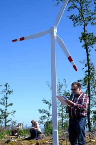 Das Bündnis fordert einen Runden Tisch, an dem die vier Anrainerkommunen, Hessen und Bundes Forst eine energetisch sinnvolle Gesamtkonzeption  entwickeln,