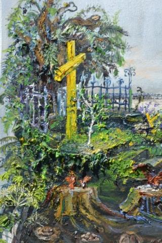 und das auf dem Kreuzweg vom Wendland bis ins Rheinland getragene Kreuz ist vorhanden.
